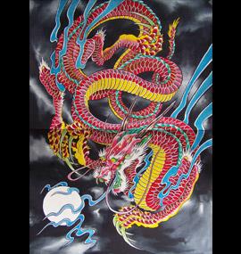 Tatouage Japonais Dragon. tatouage japonais dragon